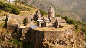 Klasztor Tatev w Armenii