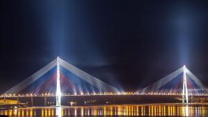 Most Rosyjski we Władywostoku. Autor: Баяков Алексей Александрович (Praca własna) [CC-BY-SA-3.0 (http://creativecommons.org/licenses/by-sa/3.0)], undefined