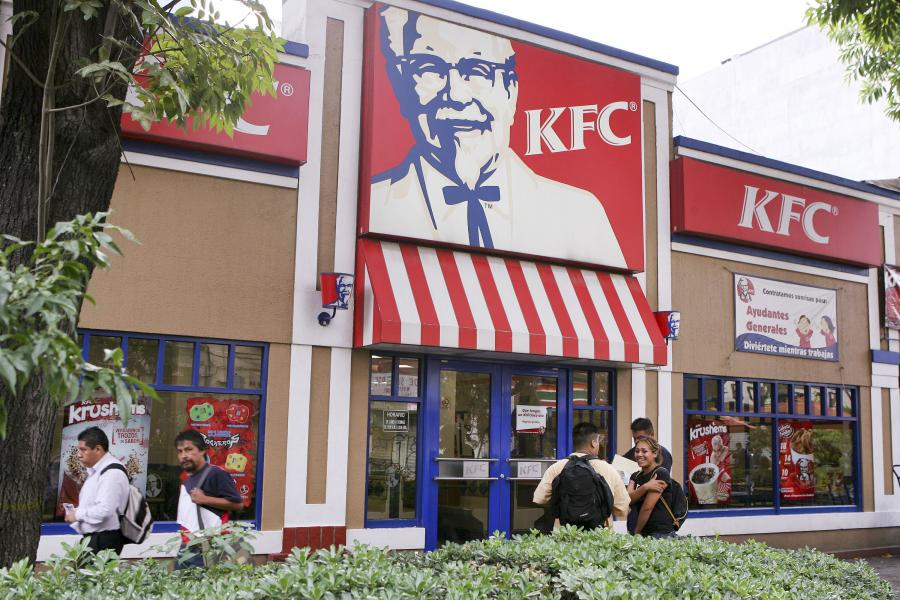 Jedna z restauracji KFC w Mexico City
