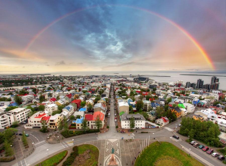 Rejkiawik, Islandia