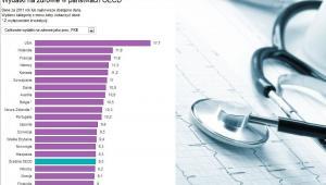 Wydatki na zdrowie w państwach OECD. Zdj. Shutterstock