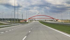 Odcinek drogi ekspresowej S8 na trasie Złoczew - Sieradz
