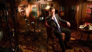 Premier Rosji Dmitrij Miedwiediew, pozuje do zdjęć w swojej rezydencji w Gorki, w pobliżu Moskwy