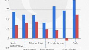 Wzrost wartości bilansowej kredytów brutto (inf. Dariusz Gąszczyk)