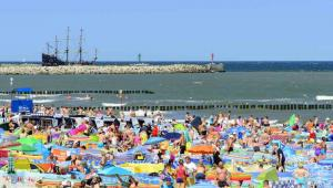 Plaża nad Morzem Bałtyckm, Ustka, Fot. ppart / Shutterstock.com