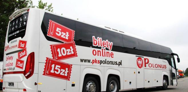 PKS Polonus przewiózł 2 mln pasażerów w 2015 r. i miał 40 mln zł przychodu z tej działalności