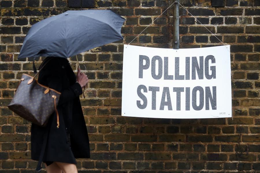 Informacja o lokalu wyborczym, Londyn, 23.06.2016
