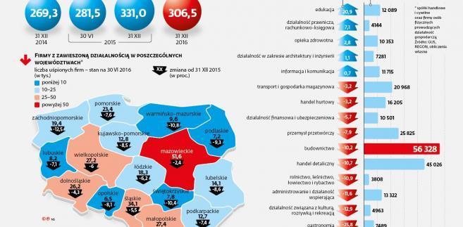 Działalność firm w Polsce