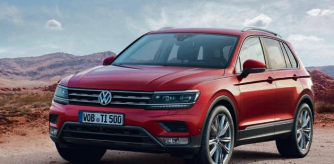 Volkswagen Tiguan materiały prasowe