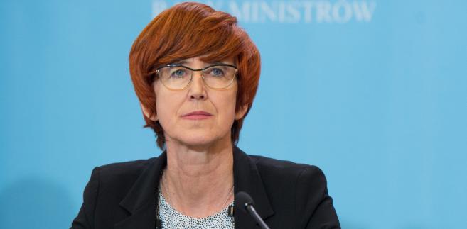 Elżbieta Rafalska; fot. P. Tracz / KPRM