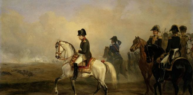 Cesarz Napoleon I na obrazie Horace'a Verneta