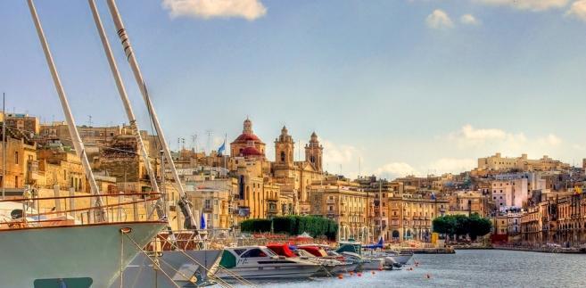 Wielki Port w La Valletta, Malta