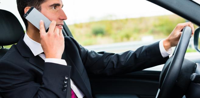 samochód kierowca biznesmen