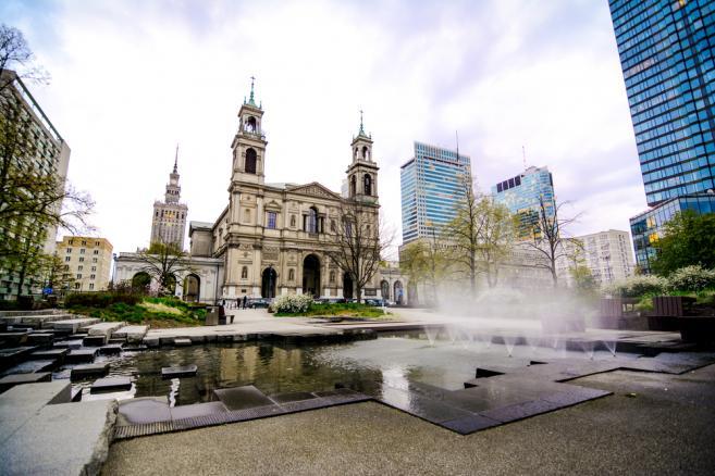 Warszawa Plac Grzybowski