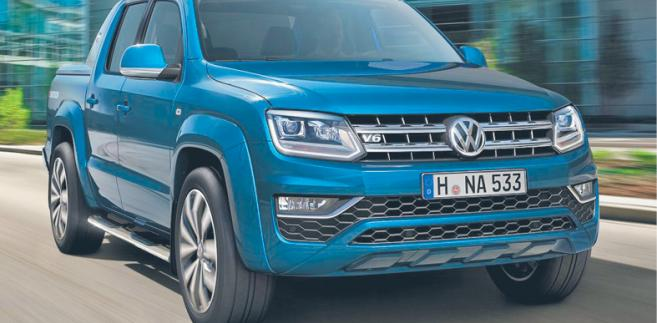Volkswagen amarok aventura fot. mat. prasowe
