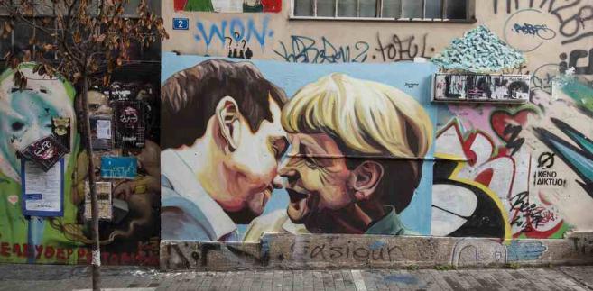 Grecja Merkel Tsipras
