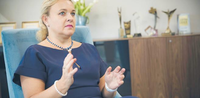 Anna Rulkiewicz, wiceprzewodnicząca Rady Pracodawców RP, prezes zarządu Lux Med Sp. z o.o. fot. Wojtek Górski