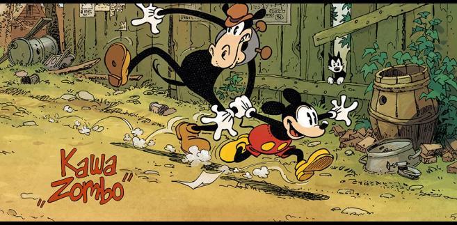 Myszka Miki, komiks