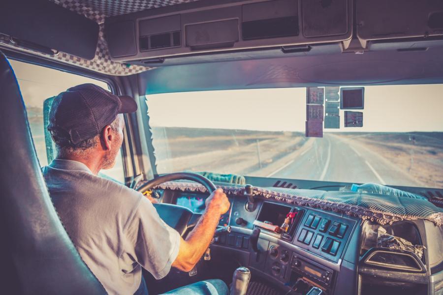 tir transport kierowca