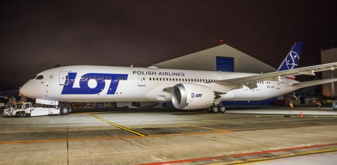 Dreamliner B787-9 LOT-u