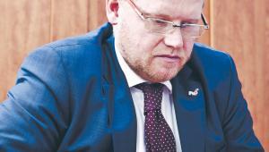 Paweł Gruza zajmował się w MF m.in. split paymentem fot. Wojtek Górski