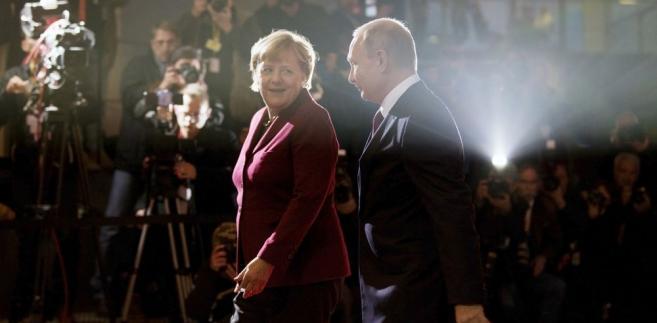 Merkel i Putin fot. Shutterstock fot. berlinpictures16
