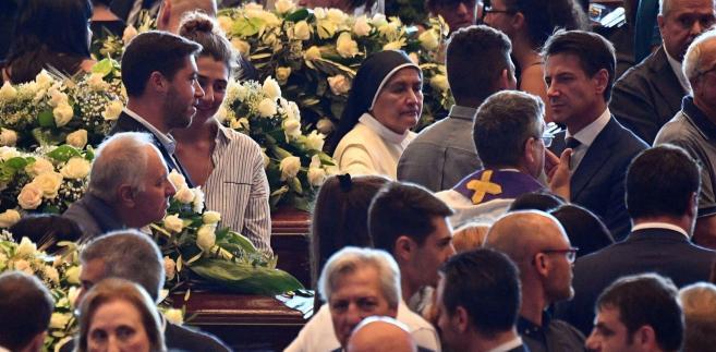 Pogrzeby ofiar katastrofy w Genui