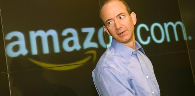 Jeff Bezos, założyciel i dyrektor zarzadzający Amazon.com