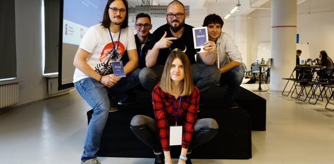 Zespół SLAVIC: Michał Skorko, Michał Jadczuk, Piotr Tynecki, Adrian Toczydłowski, Marta Zajkowska. Fot. Agnieszka Wanat