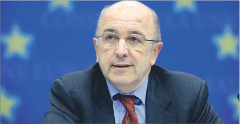 Joaquin Almunia unijny komisarz ds. gospodarczych i walutowych