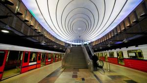 Warszawa, stacja metra Plac Wilsona. Fot. Shutterstock