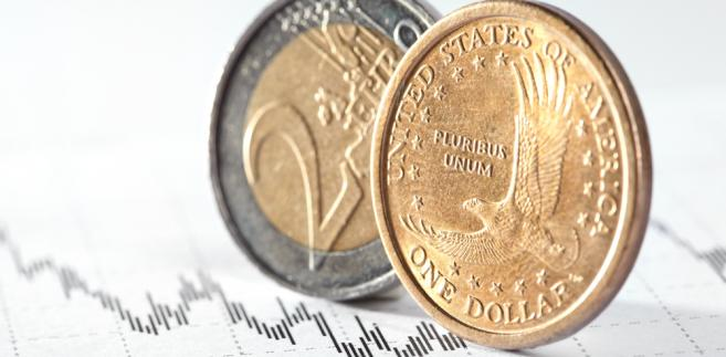 Dolar i euro, fot. Denis Vrublevski
