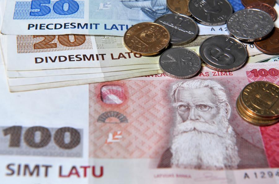 Łat - łotewska waluta