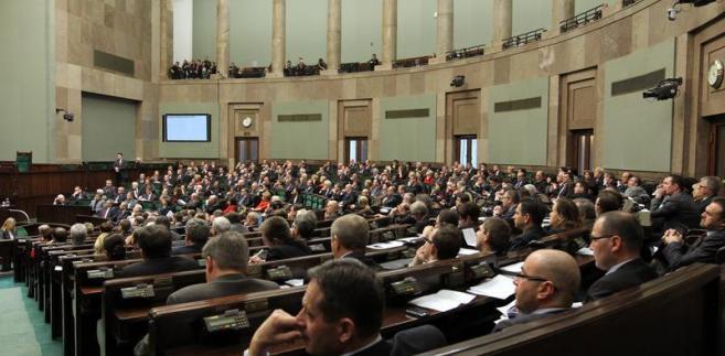 Sejm, fot. Krzysztof Białoskórski