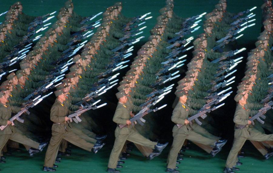 Korea Północna - żołnierze