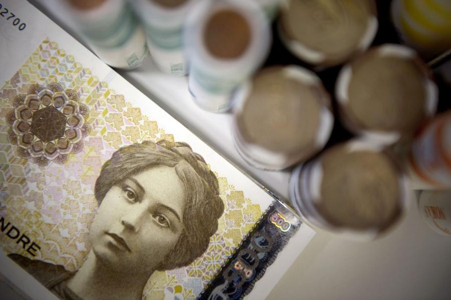 Banknot 500 koron norweskich