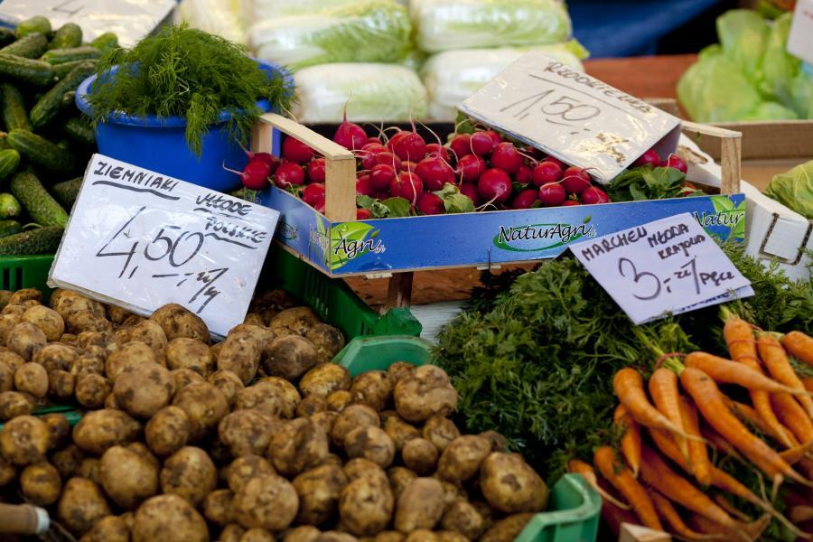 Polskie, drogie warzywa