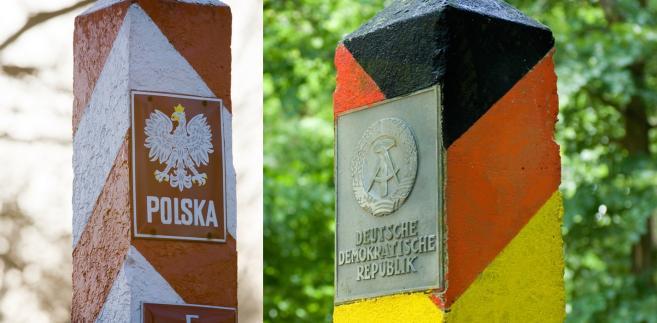 Słupt graniczne Rzeczpospolitej Polskiej i dawnej Niemieckiej Republiki Demokratycznej