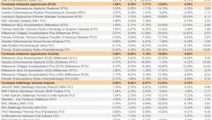 Ranking Towarzystw Funduszy Inwestycyjnych - lipiec 2012 r. - cz.4