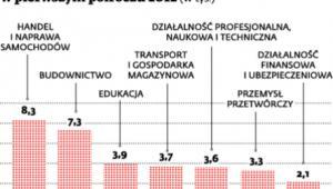 Liczba firm, które zawiesiły działalność w pierwszym półroczu 2012 (w tys.)
